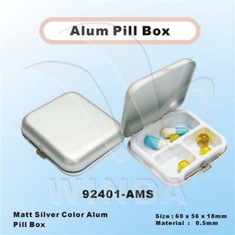 Alum pill Box-92401