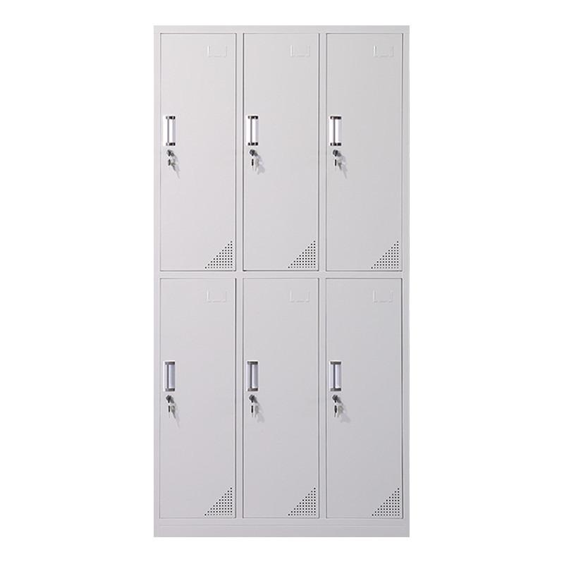 铁皮文件柜办公室档案资料财务凭证更衣储物铁柜收纳带锁矮柜柜子