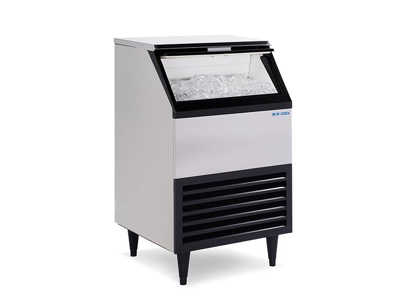 全自动商用制冰机冰块机70kg上推门子弹头冰