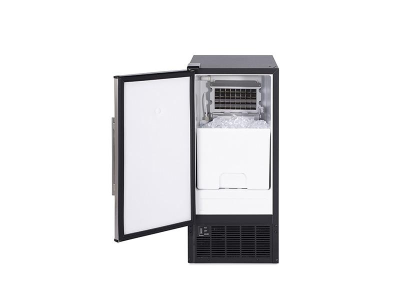 全自动商用制冰机冰块机30kg弧形门可内置