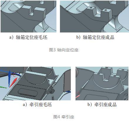 转向架结构牵引座U型槽型加工刀具