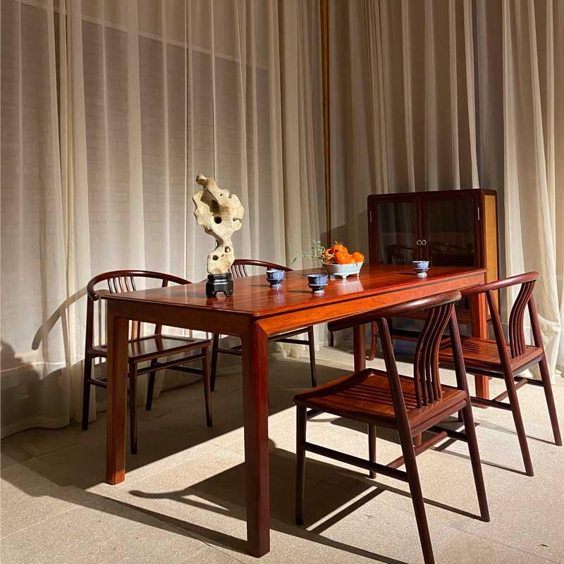 无缝长条桌