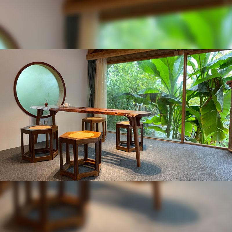 自然风茶桌