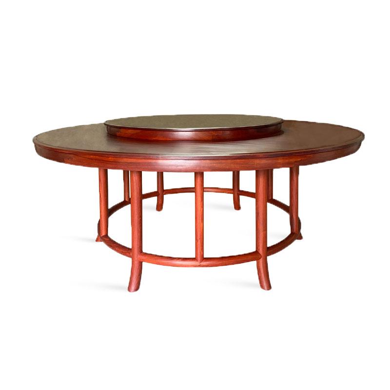 无缝圆餐桌