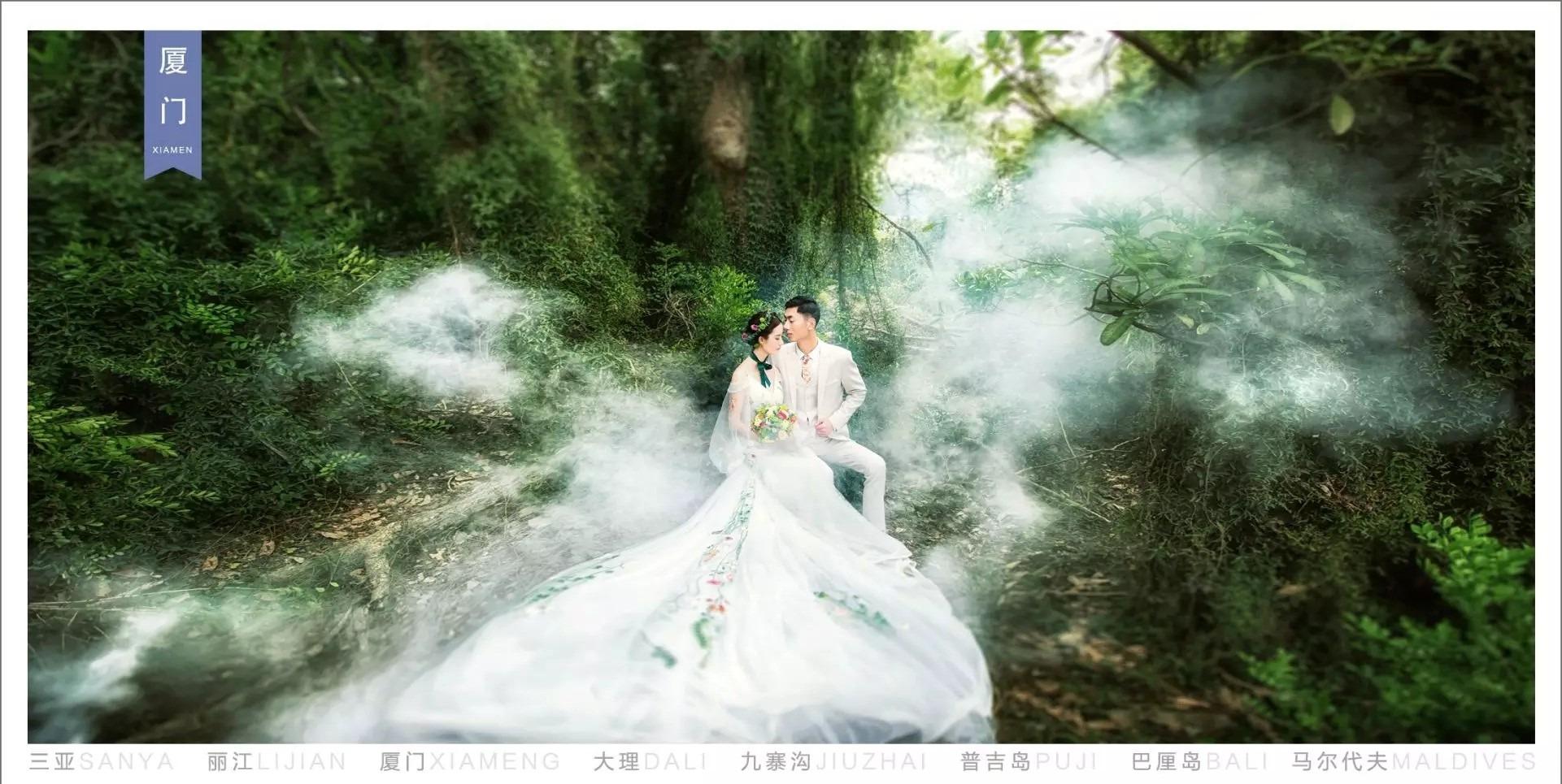 厦门植物园婚纱照