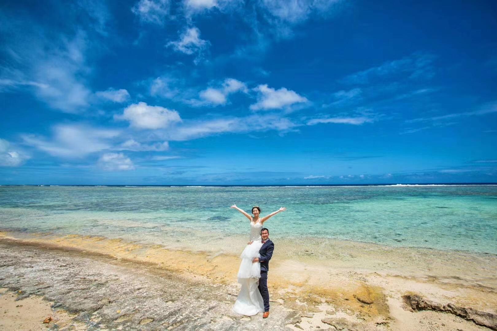 塞班岛旅拍婚纱照推荐