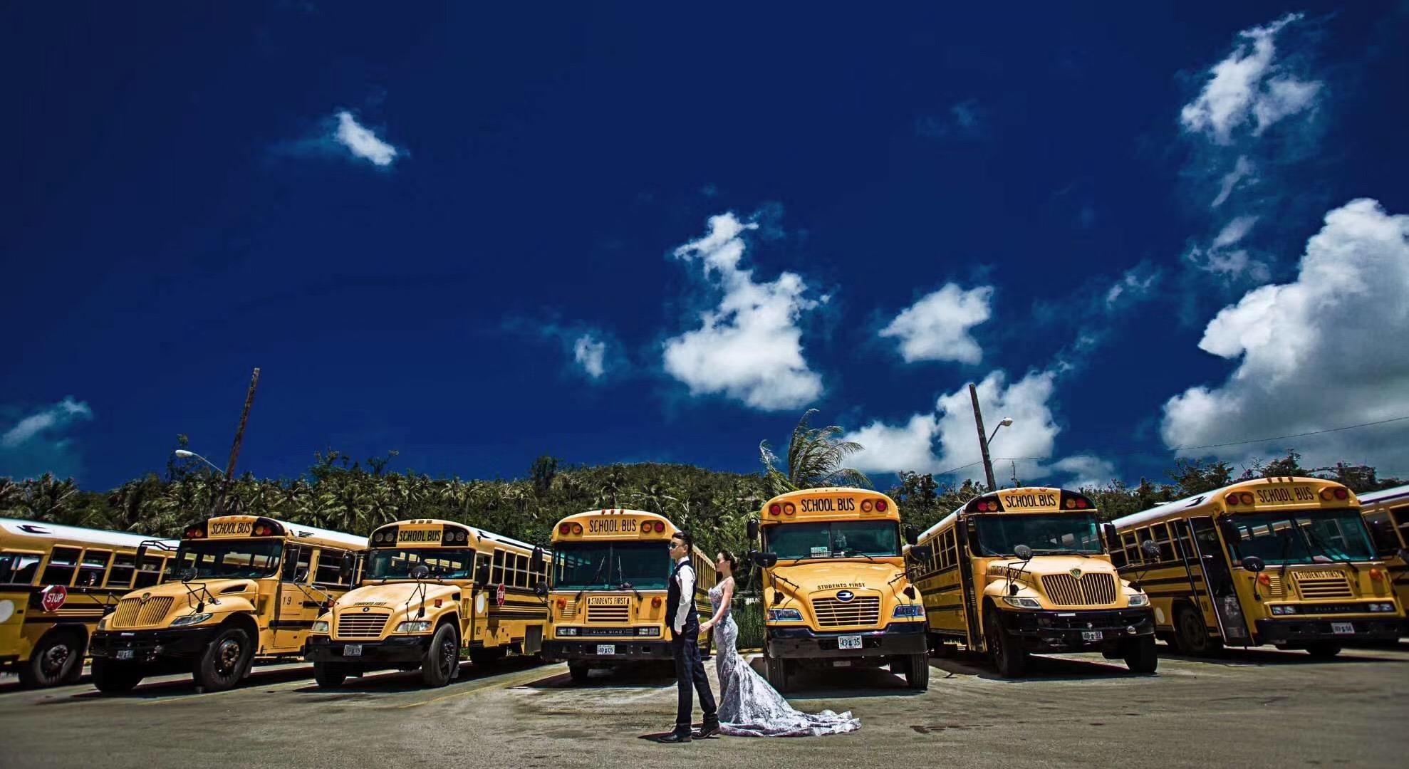 美国塞班岛婚纱照 旅拍