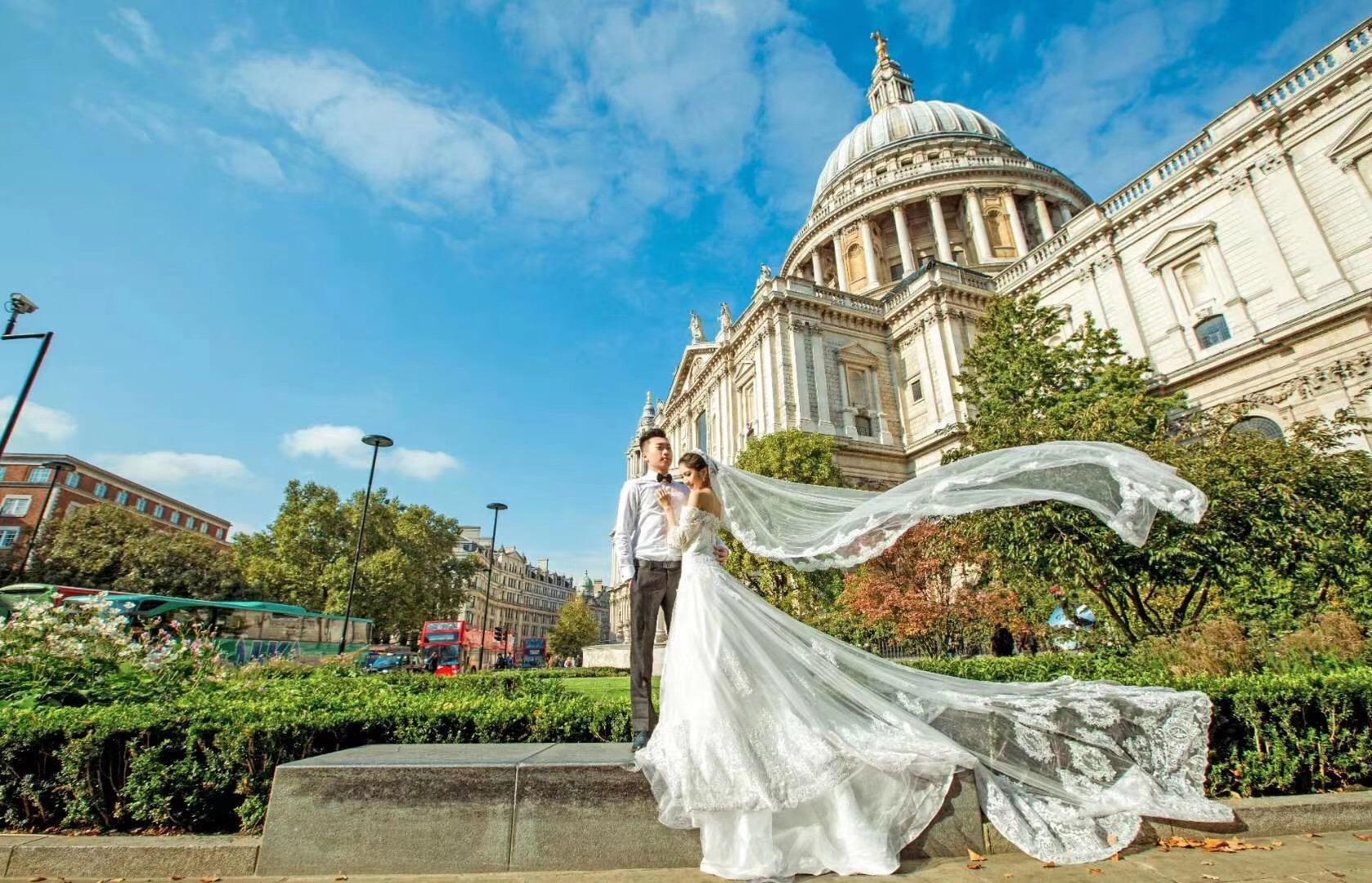 伦敦婚纱摄影旅拍推荐