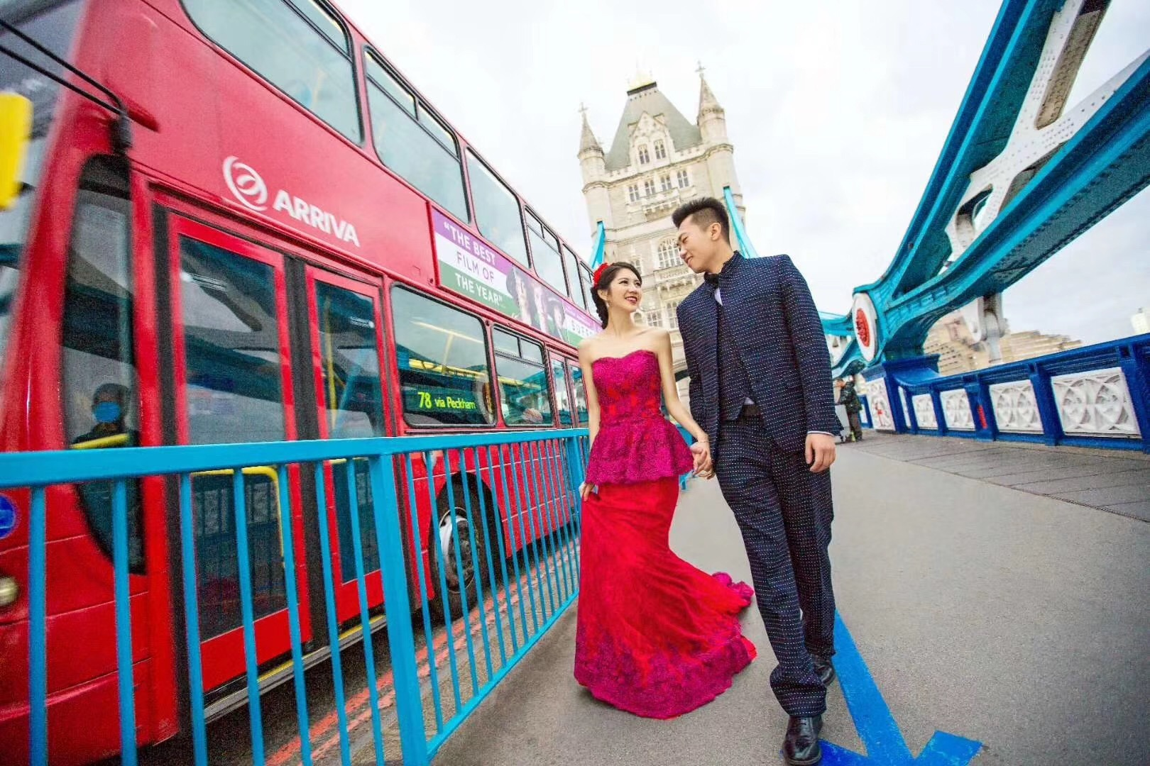 伦敦婚纱摄影推荐
