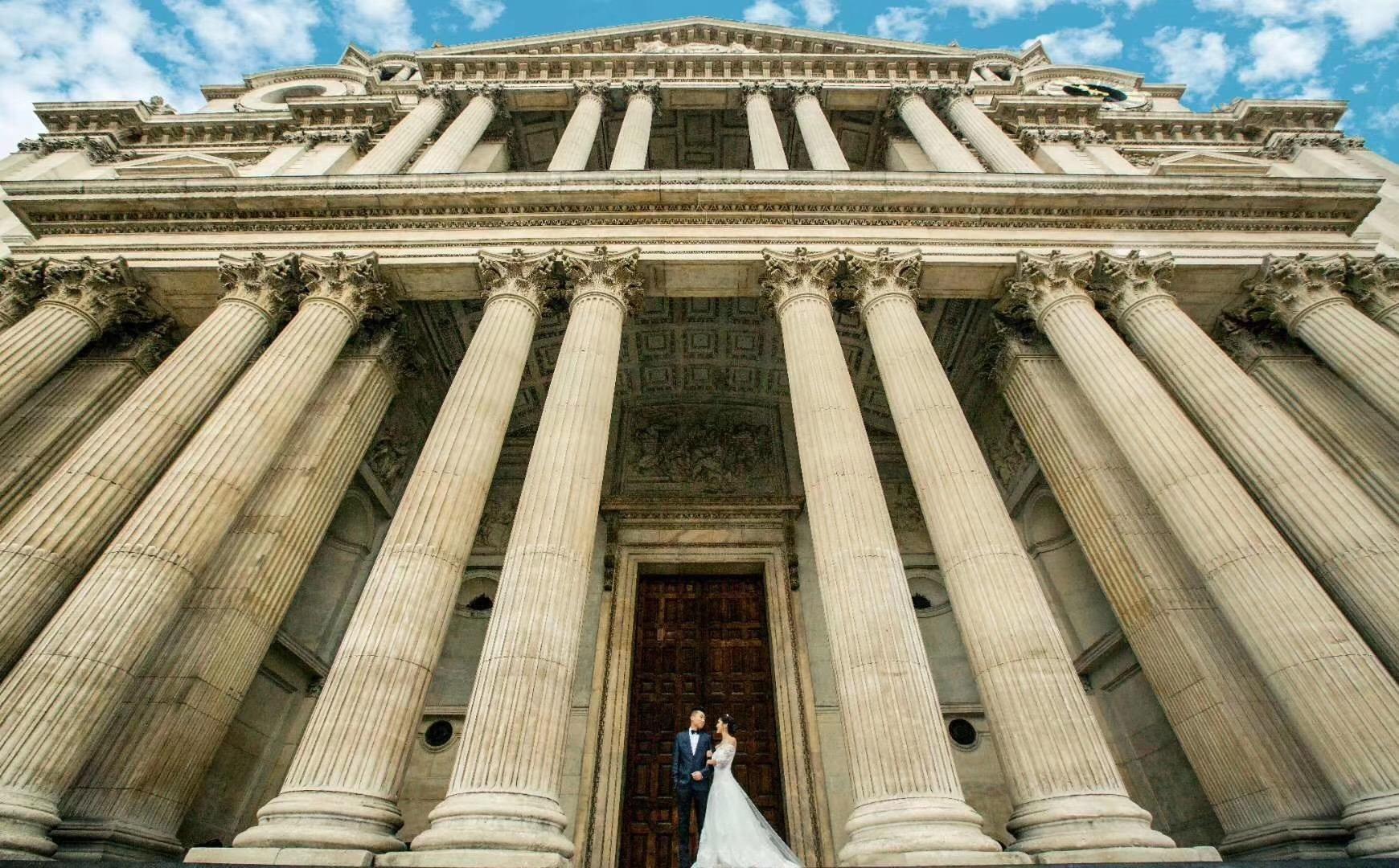 法国巴黎婚纱照旅拍