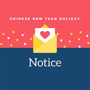 Holiday Notice of Chinese New Year-Conva machinery