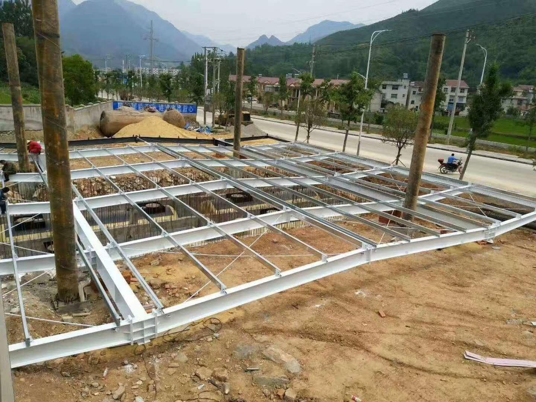 陕西加油站网架结构18392111831