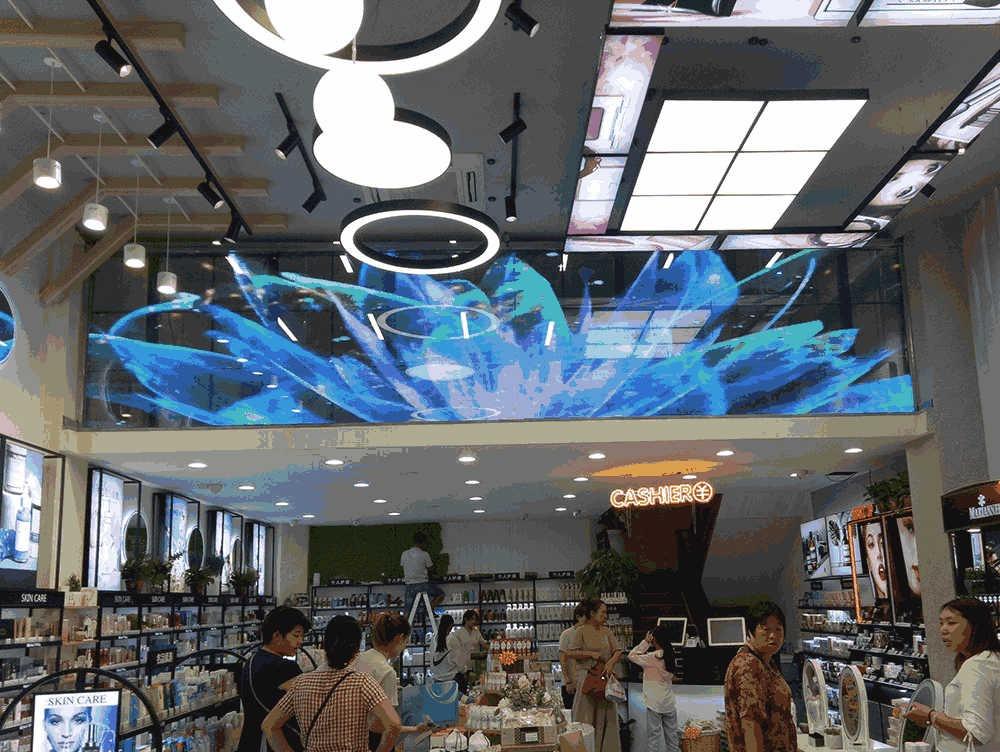 太康县LED透明屏项目