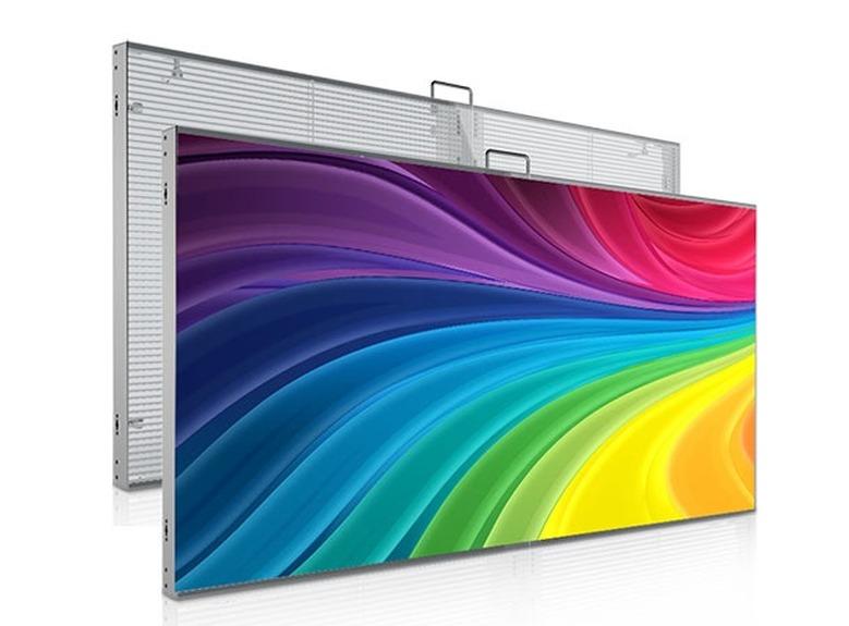 玻璃橱窗LED透明屏