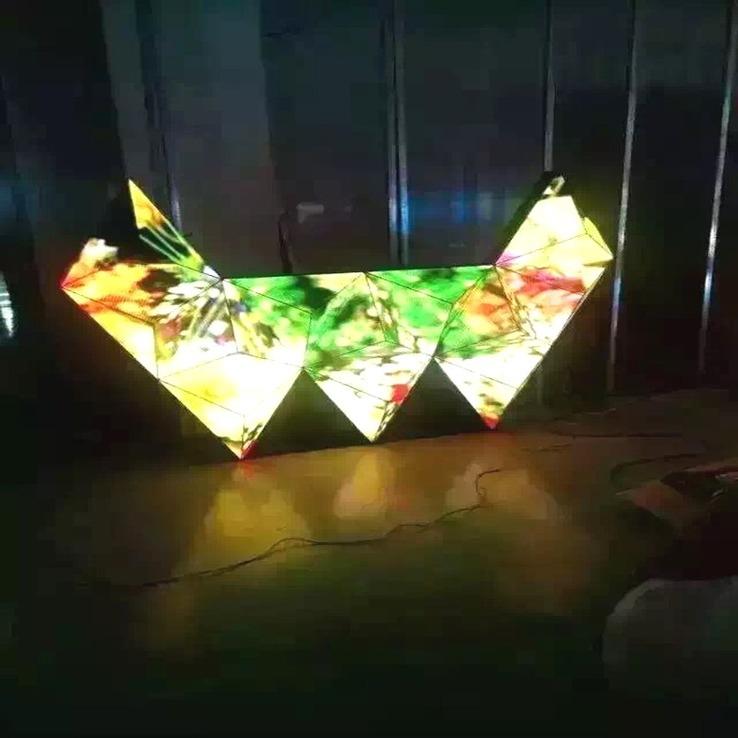 多边创意LED屏