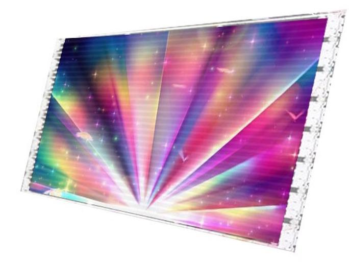 超薄LED贴膜屏