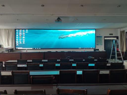 郑州某单位全彩LED显示屏项目