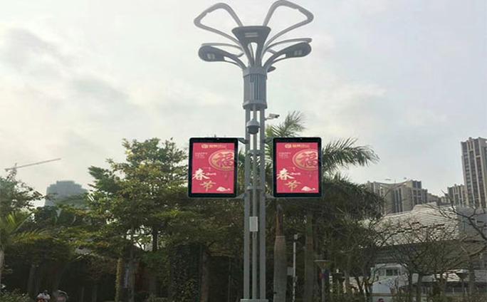 led透明广告机