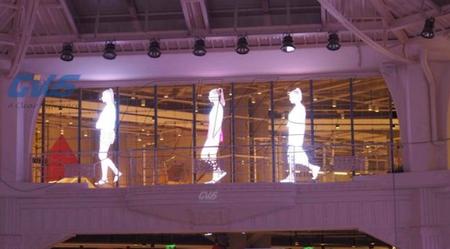 张家口玻璃幕墙LED显示屏如何照亮建筑物照明工程