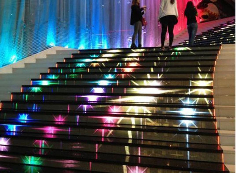 楼梯LED显示屏2