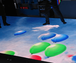 led互动地砖屏解决方案