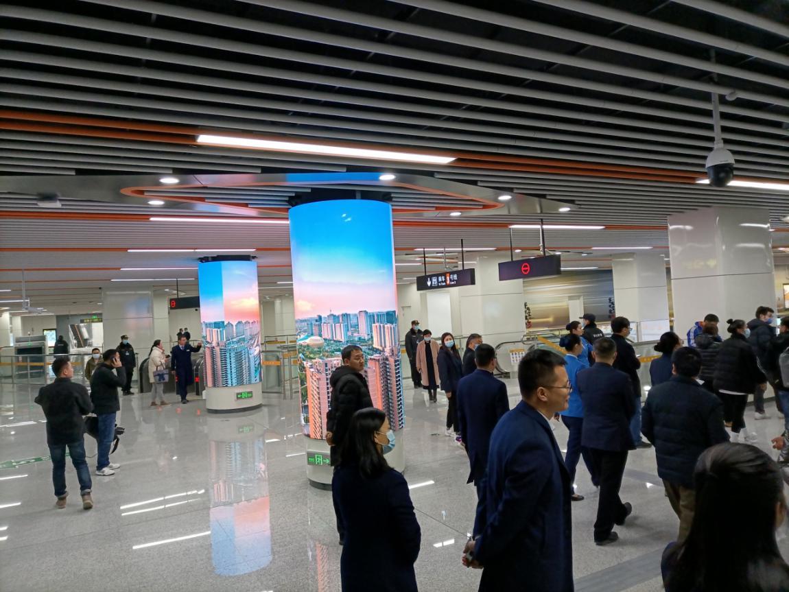 产品知识|地铁站常见LED显示屏有哪些?