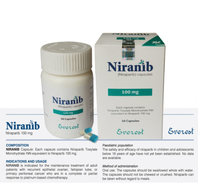 尼拉帕尼 尼拉帕利 Niranib niraparib (Everest) 30粒