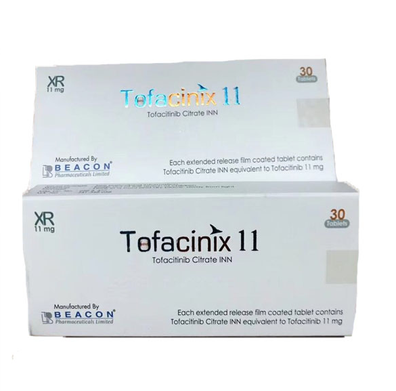 托法替布 11mg Tofacitinib Tofacinix 11mg ( Beacon )
