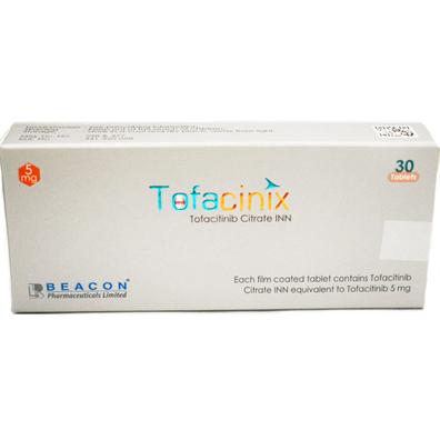 托法替尼(托法替布)5mg Tofacitinib Tofacinix 5mg ( Beacon )
