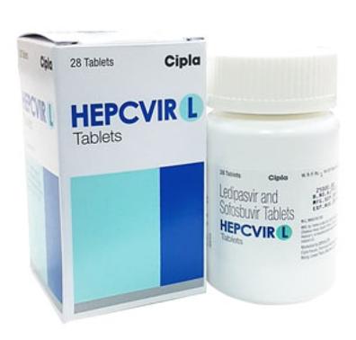 吉二代 Ledipasvir sofosbuvir hepcvirl