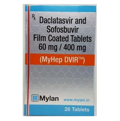 迈兰索达合成 DVIR Sofosbuvir 400mg Daclatasvir 60mg