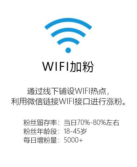 共享WIFI粉丝