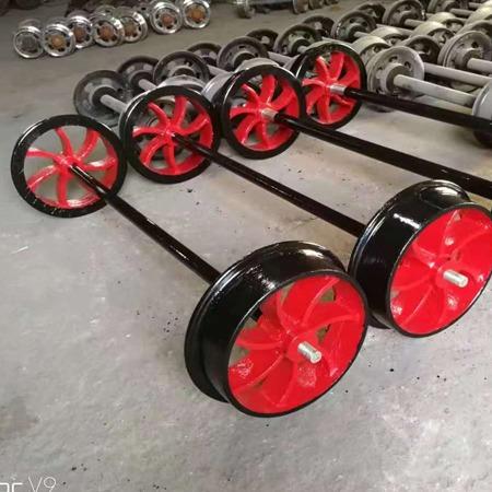 Crane wheelset