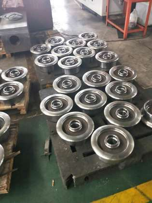Characteristics of wheel forgings in quenched state