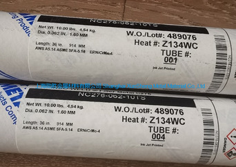 ERNiCrMo-4  AWS A5.14 美国欧州进口镍合金焊丝