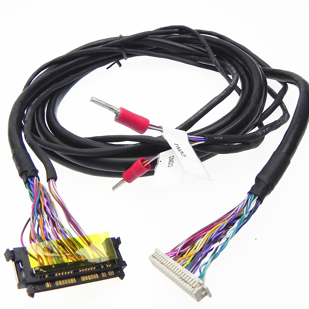 Custom HRS DF13 to JAE RE51 lvds cable assembly