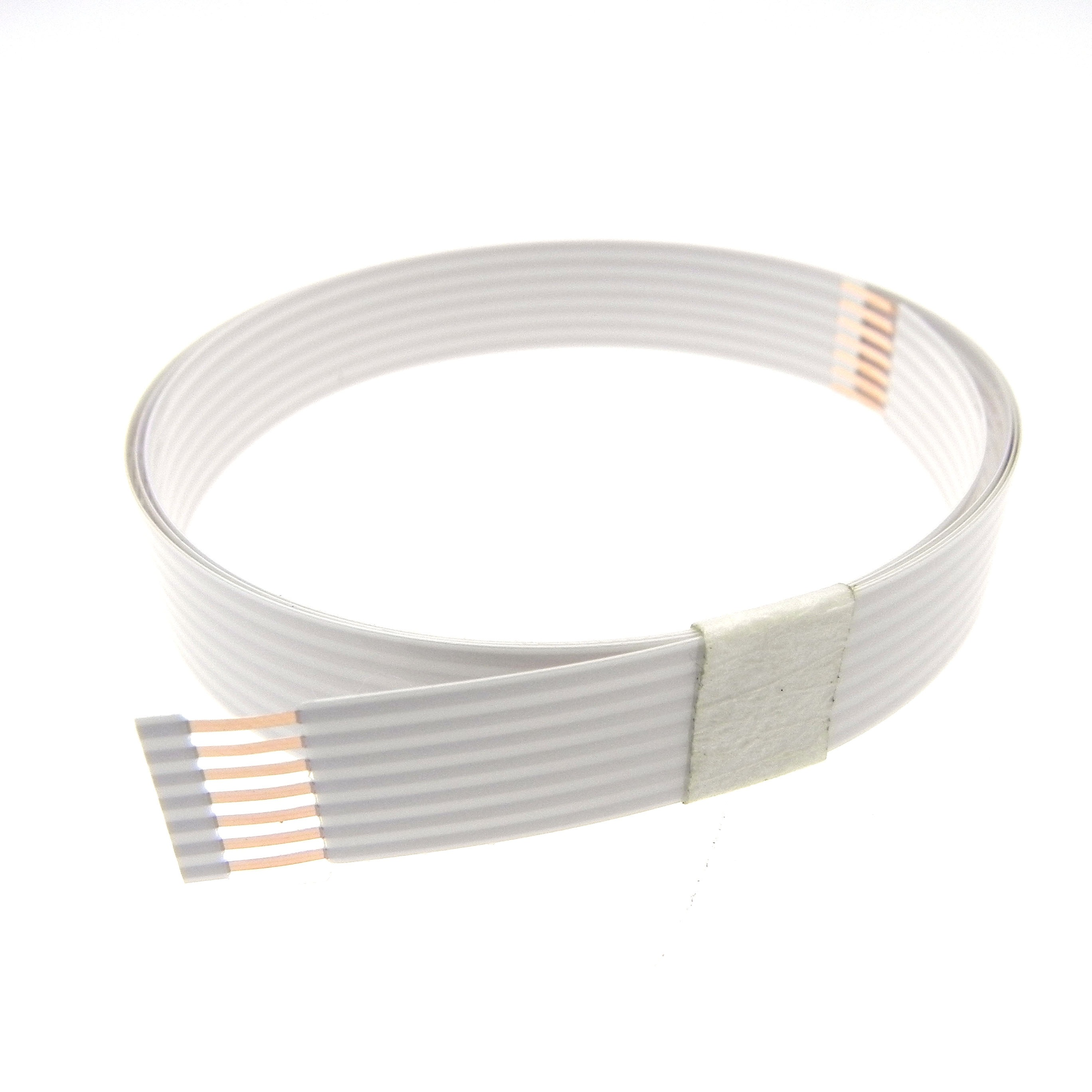 7pin 1.27mm pitch 538mm long airbag FFC cable