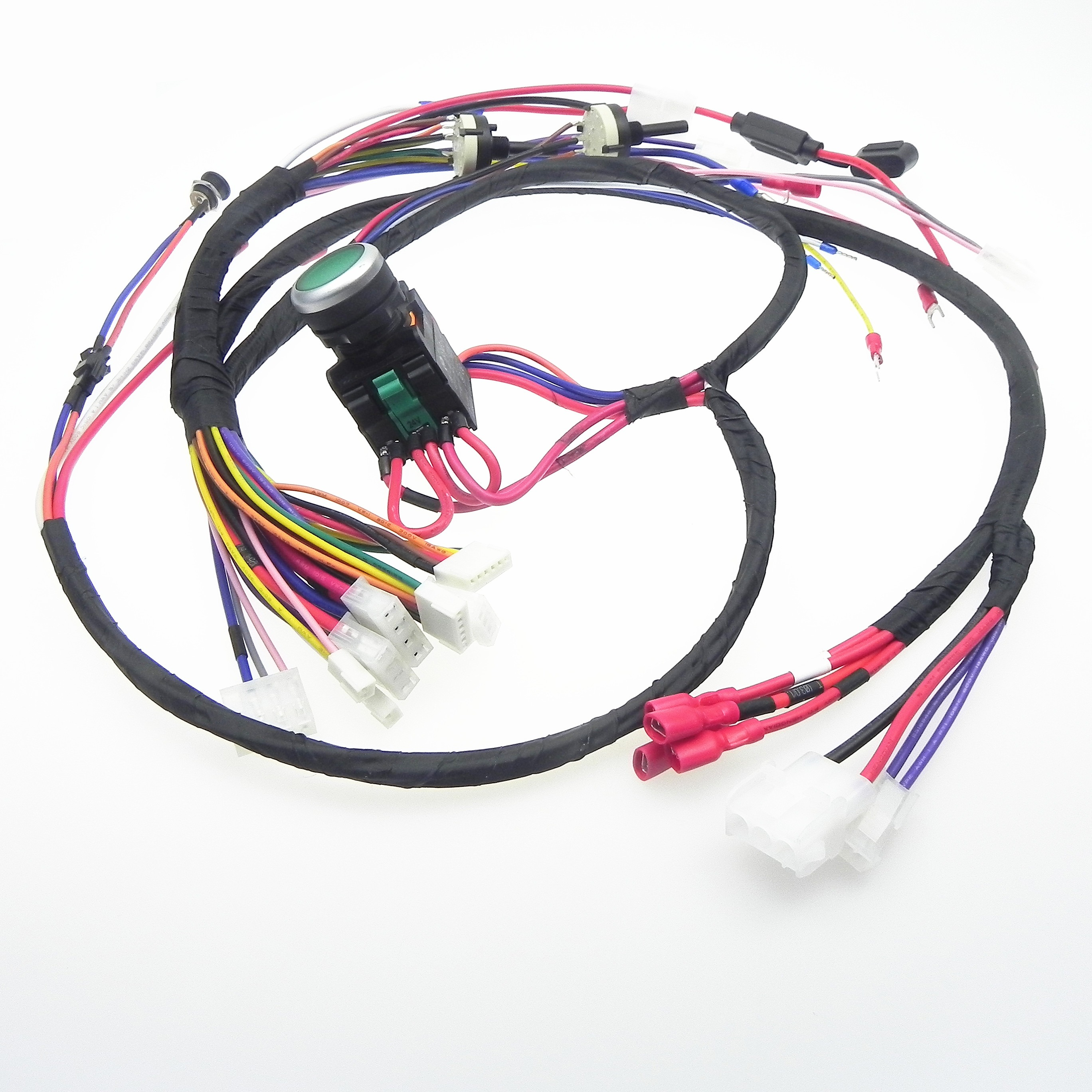 Manufacturer OEM custom wire harness cable assembly wiring loom
