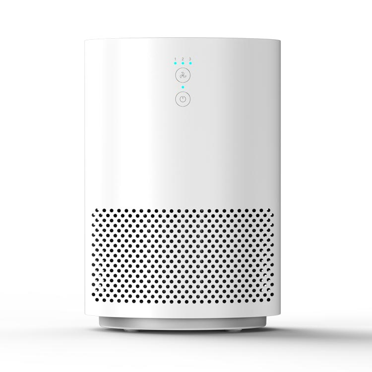 AM-080 Air Purifier for Home 3-in-1 True HEPA Filter Air Cleaner for Bedroom and Office