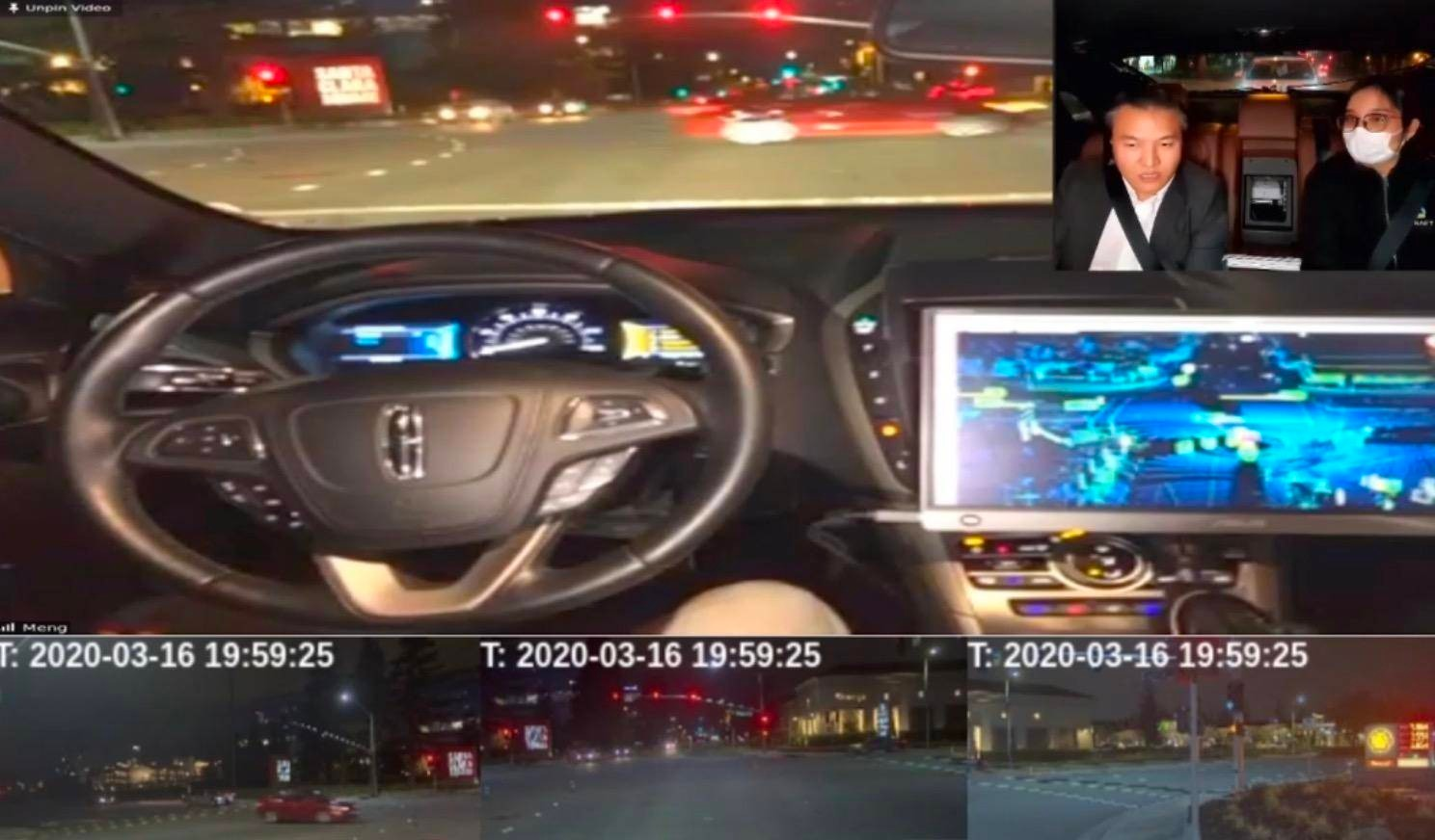 Ride in QCraft's Self-Driving Car