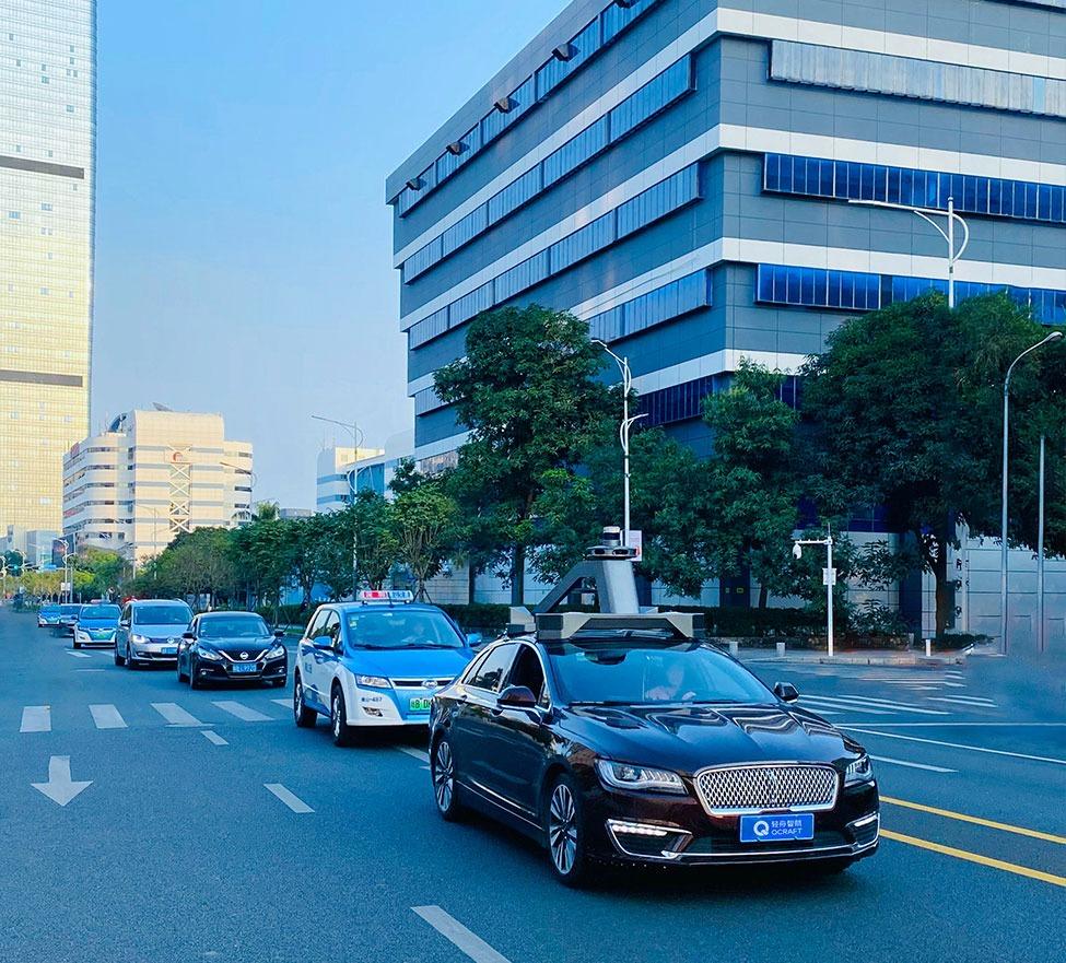 中国无人车