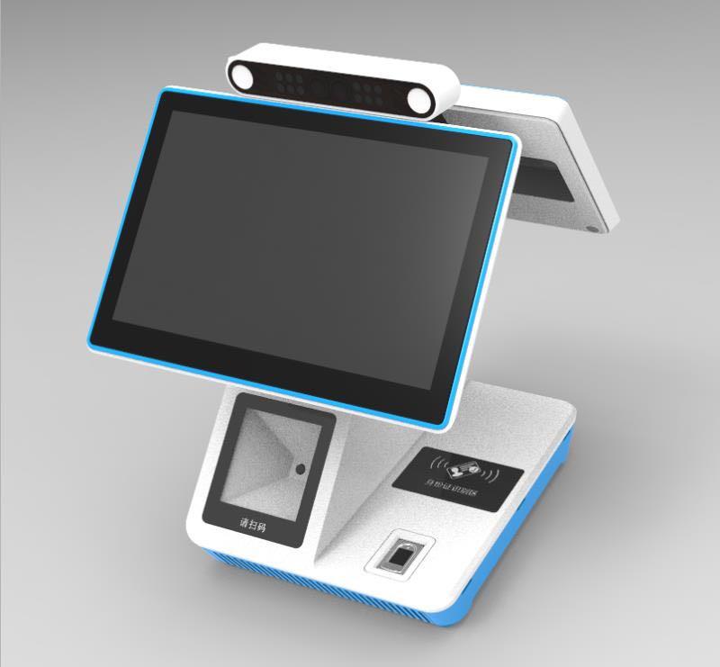 桌面式双屏智能终端-FC04