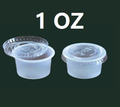 1oz/PP无盖酱汁杯250只/1条SOLO-P100N-PK