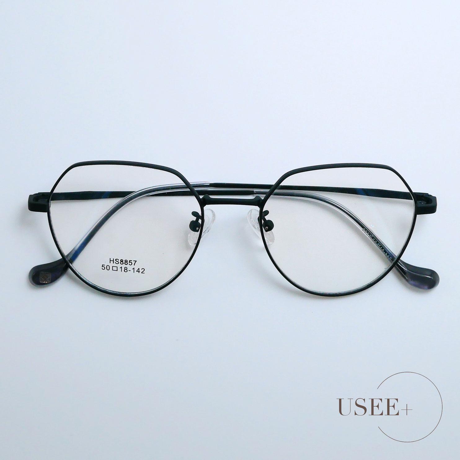 USEE+ 有晰眼镜磨砂简约时尚潮流眼镜