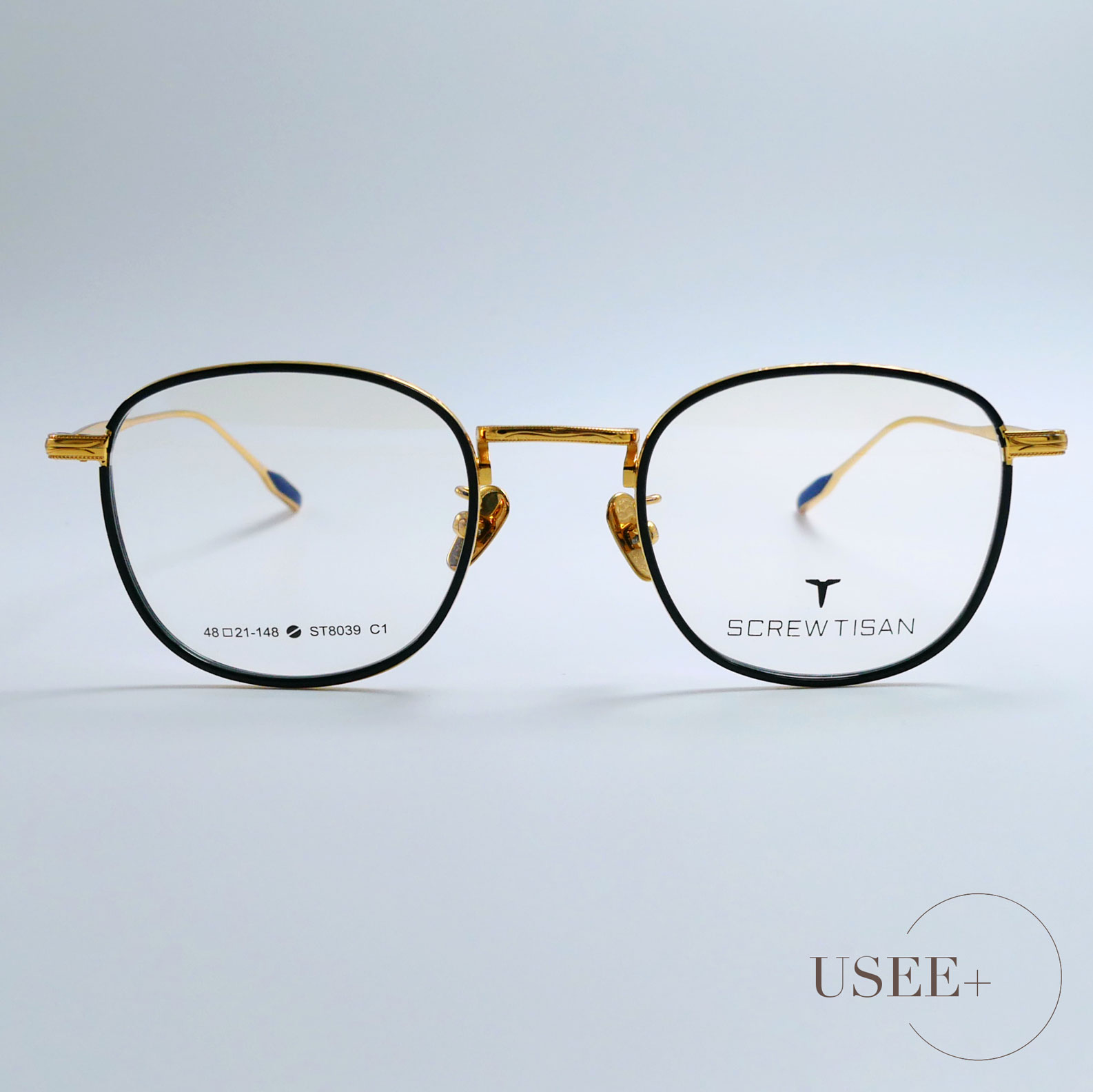 USEE+ 有晰眼镜设计师时尚潮流复古光学眼镜