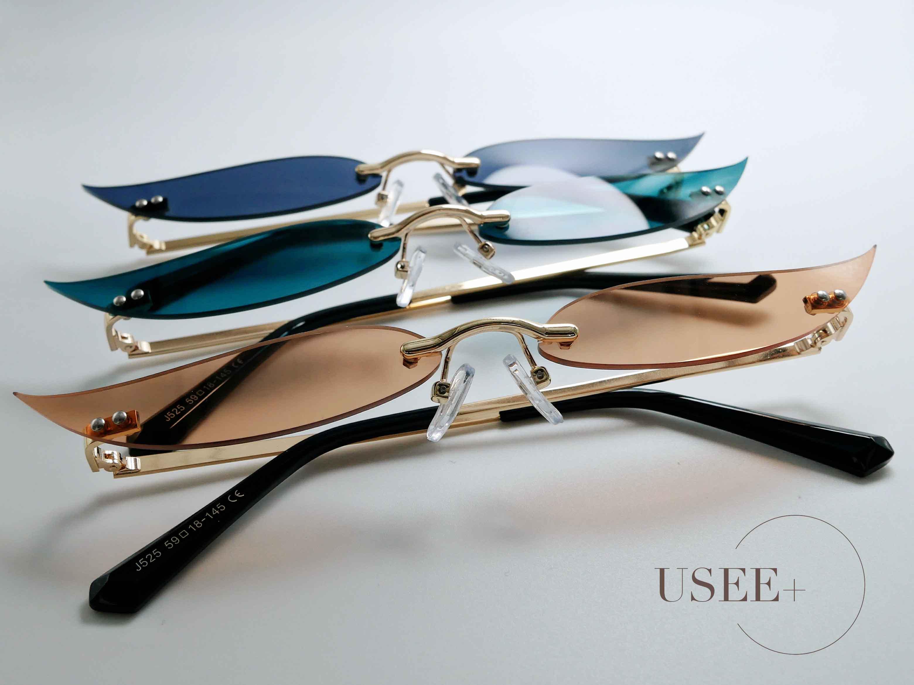 USEE+ 有晰眼镜可爱趣味搞怪墨镜