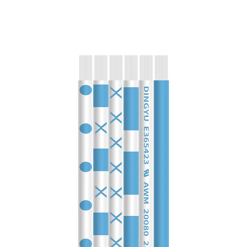 20080扁平软蓝白排