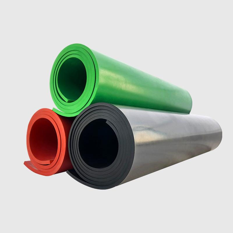 中橡耐油橡胶绝缘胶垫 绿色 5mm厚