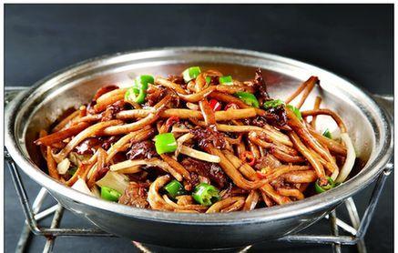 干锅茶素菇(茶素菇1斤)