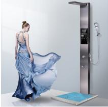 斯瑞斯特(seicurty)即热式电热水器 磁能恒温变频洗澡淋浴器 集成花洒淋浴器洗澡 杀菌变频